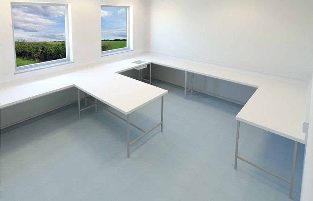 lab-healthcare-corian-benches-refit-cl2