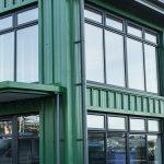 new-build-industrial-unit-steel-frame-clad-estate-business-construction