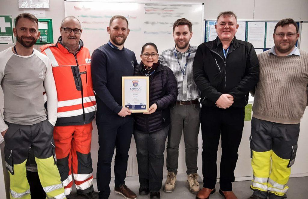 tci-hpc-exempla-platform-hinkley-site-safety-award-team
