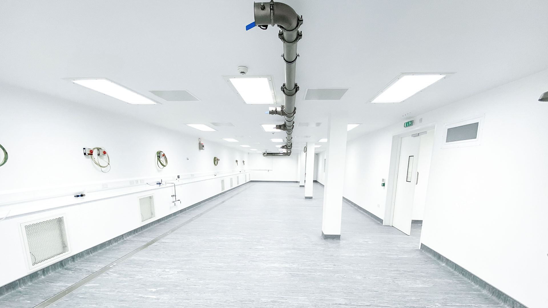 Modification works to pharmaceutical production environment at Vectura