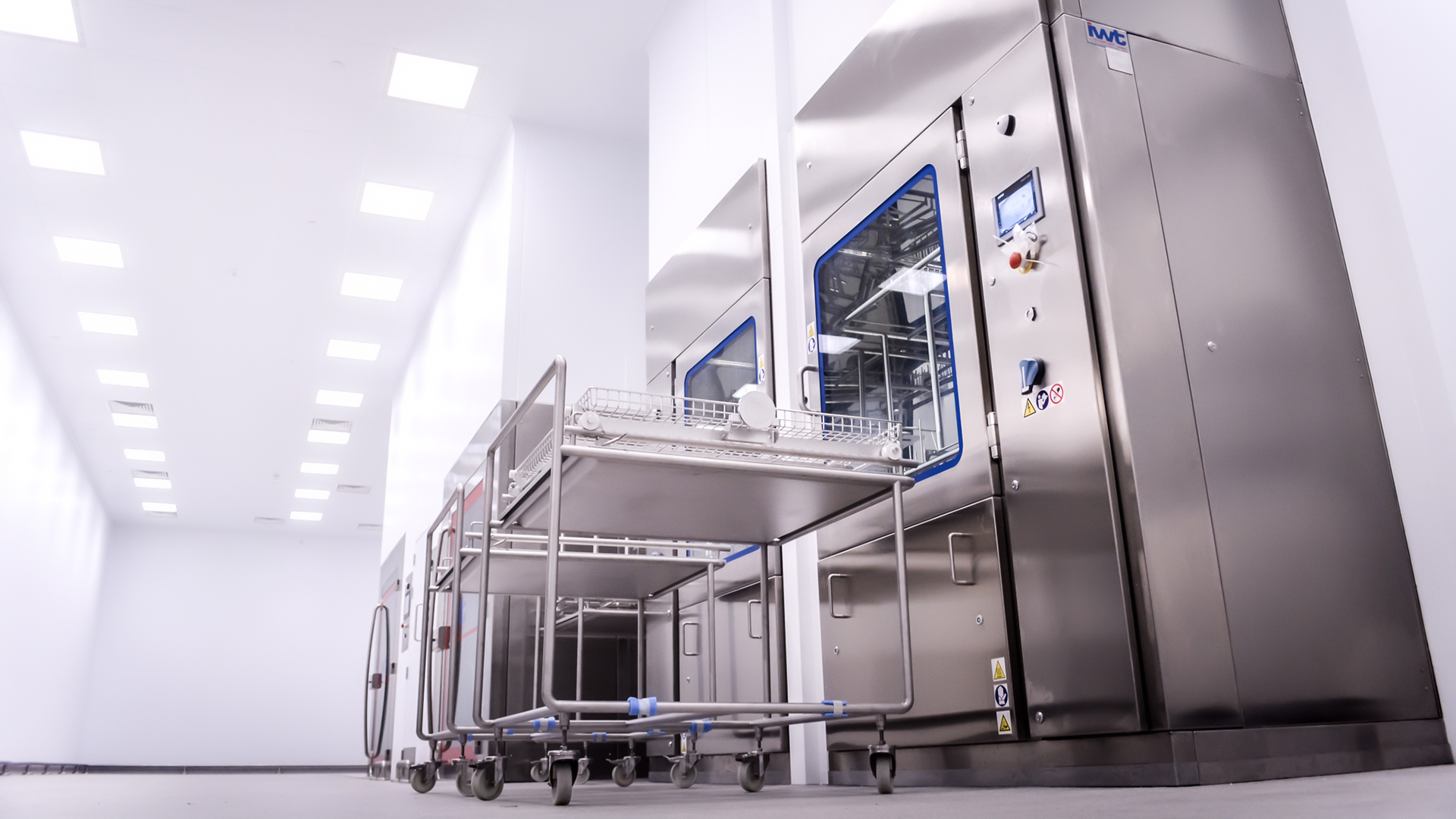 GMP Hygiene Facility – Pharmaceutical Manufacturer